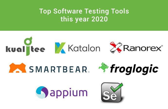 Top Software Testing Tools 2020