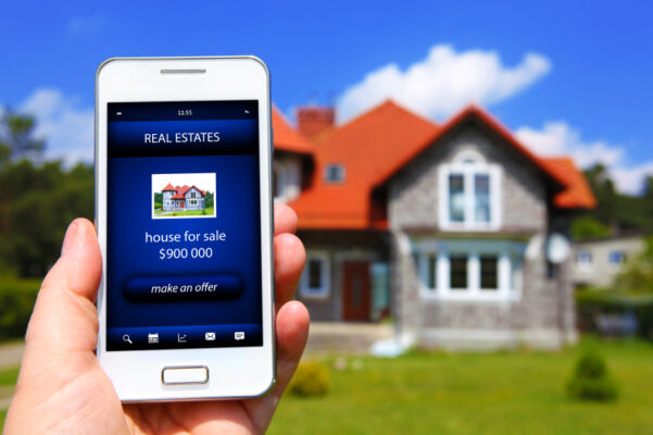 House Hunting with smart phone