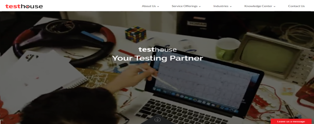 testhouse screenshot