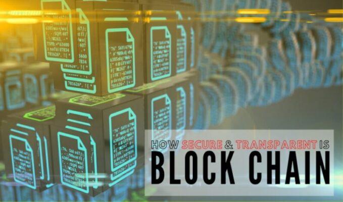 Transparent is Blockchain
