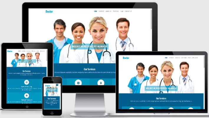 Build a Healthcare Website
