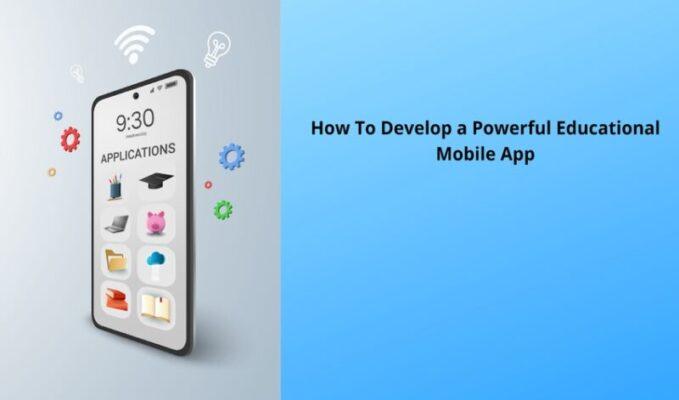 Powerful Educational Mobile App
